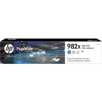 HP Tintendruckkopf cyan HC (T0B27A, 982X)