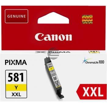 Canon Tintenpatrone gelb HC plus (1997C001, CLI-581YXXL)