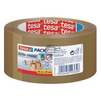 Tesapack Packband Ultra Strong 50 mm x 66 m braun