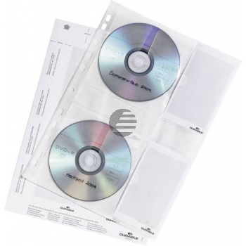 Durable CD-Hüllen A4 transparent Inh.5