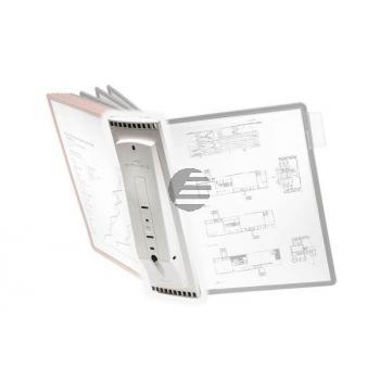 Durable Sherpa Tafelträger A4 grau für 10 Sichttafeln zur Wandmontage geeignet