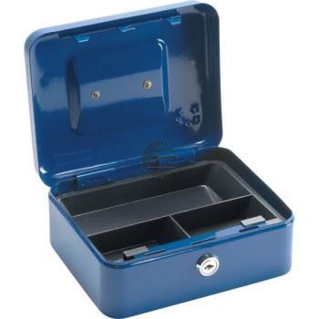 5 Star Geldkassette 160 x 200 x 90 mm blau