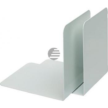 Alco Buchstützen weiß Metall Inh.2 130 x 140 x 140 mm
