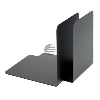 Alco Buchstützen schwarz Metall Inh.2 130 x 140 x 140 mm