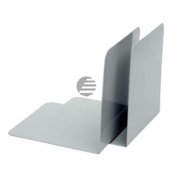 Alco Buchstützen grau Metall Inh.2 130 x 140 x 140 mm