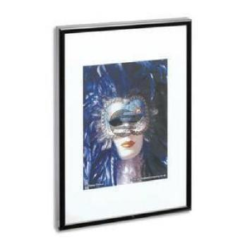 Alumaxx Alu-Bilderrahmen schwarz 30 x 40 cm