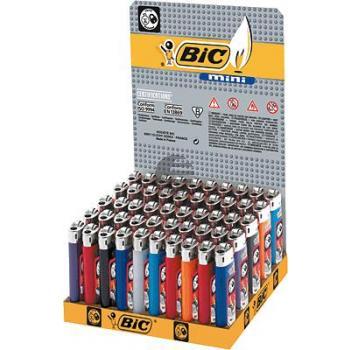BiC Feuerzeug mini neutral sortiert