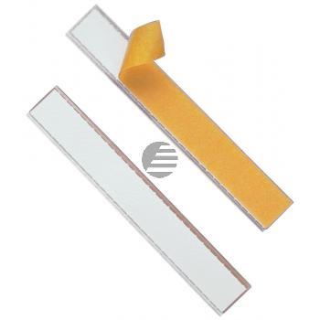 Durable Beschriftungsfenster Schildfix farblos Inh.10 20 mm