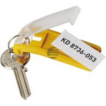 Durable Schlüsselanhänger Key Clip gelb Inh.6