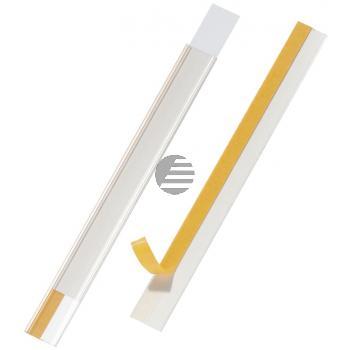 Durable Regalbeschriftung Scanfix farblos Inh.5 20 mm