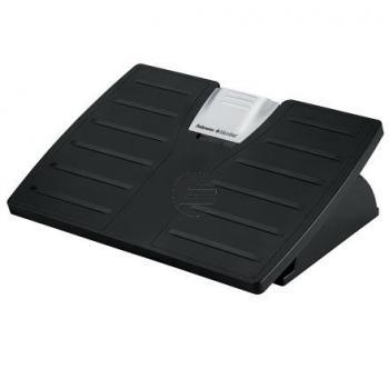 Fellowes Fussstütze Microban silber/schwarz 20,3 x 43,2 x 31,0 cm