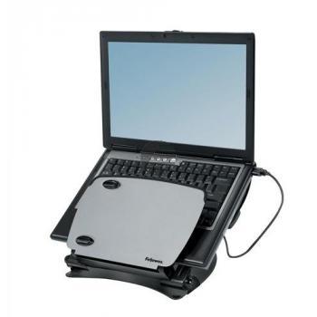 Fellowes Monitorständer Professional Workstation graphit/silber