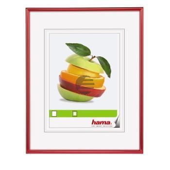 Hama Kunststoffrahmen Sevilla rot 10 x 10 cm