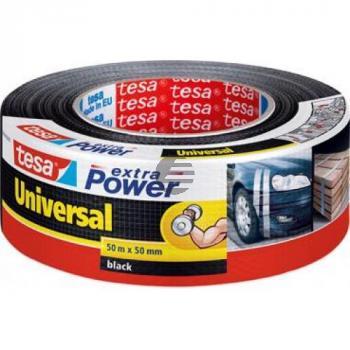 Tesa Reparaturband Extra Power Universal 48 mm x 50 m schwarz
