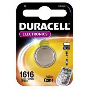 Duracell Knopfzelle CR1616 3 V Lithium
