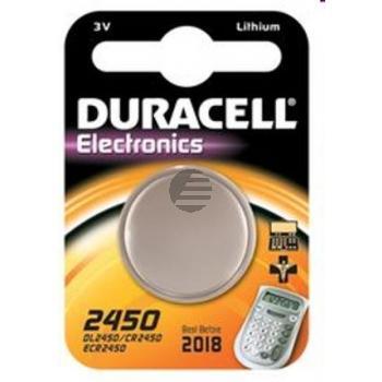 Duracell Knopfzelle CR2450 3 V Lithium