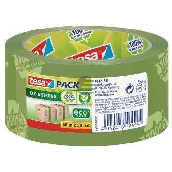 Tesapack Eco & Strong grün 50 mm x 60 m bedruckt