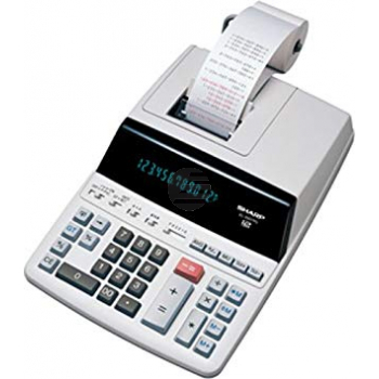Sharp Tischrechner EL-2607PGGY 12-stellig 2-Farbdruck