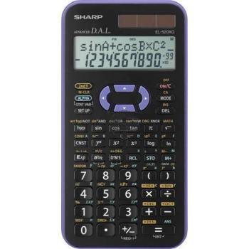 Sharp Taschenrechner EL-520XGVL 2-zeilig solar/Batterie