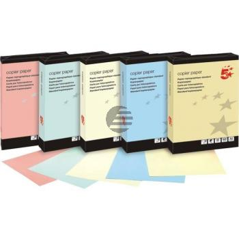 5 Star Kopierpapier A4 gelb 80 g/qm Inh. 500