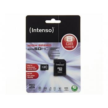 Intenso Micro SDHC Speicherkarte 8 GB