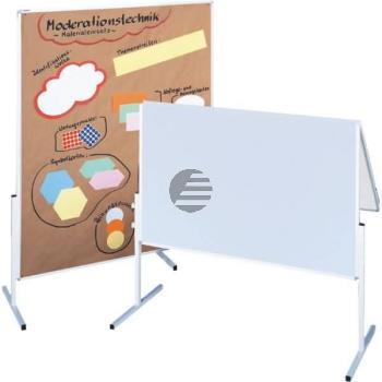 5 Star Moderationstafel mit weißem Karton 150 x 120 cm einteilig