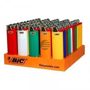 BiC Feuerzeug maxi neutral sortiert 16,4 x 15,5 x 9,8