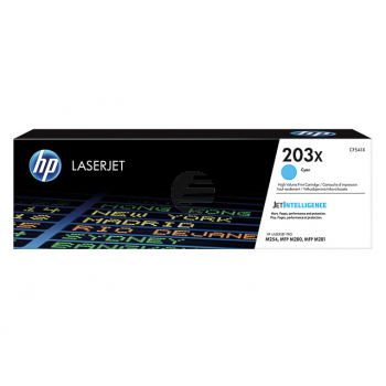 HP Toner-Kartusche cyan HC (CF541X, 203X)