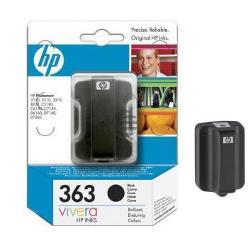 HP Tinte schwarz (C8721EE#UUS, 363)