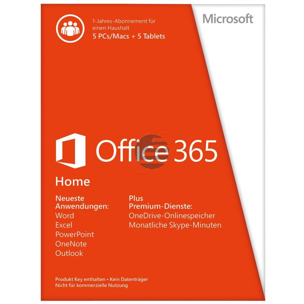 Microsoft Office 365 Home Lizenz