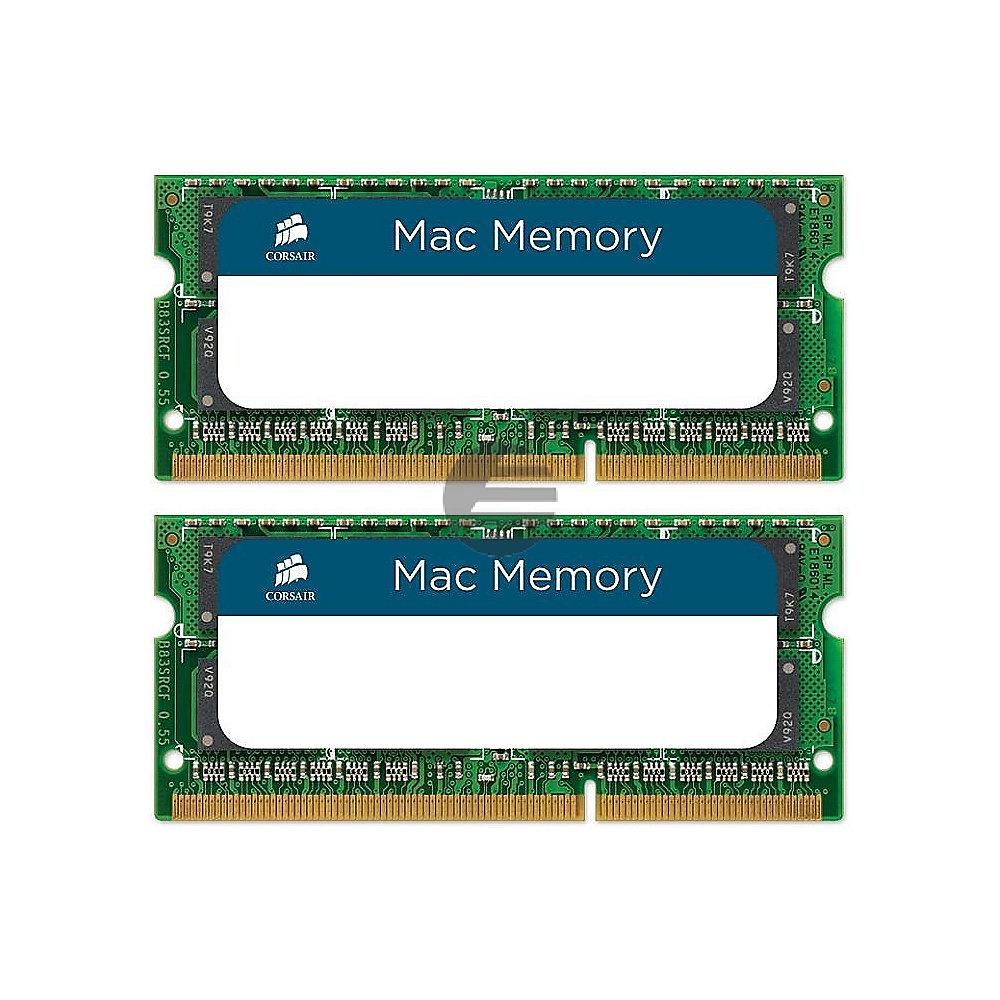 DDR3 1600Mhz 16GB 2X204 SODIMM 2x 8GB DDR3L, S0-DIMM, 1.35V, 204-pin Memory kit for Apple (CMSA16GX3M2A1600C11)