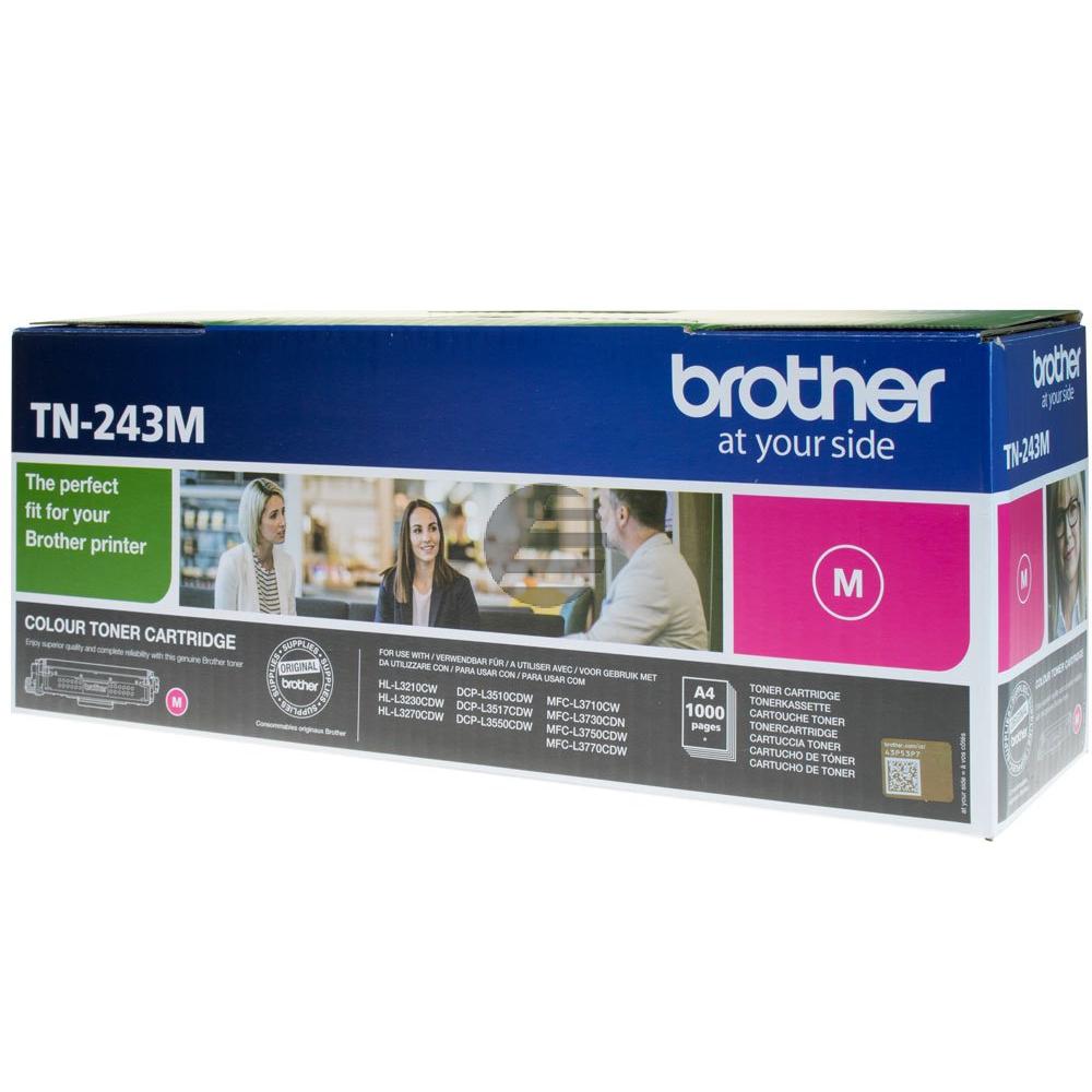 Brother Toner-Kartusche magenta (TN-243M)
