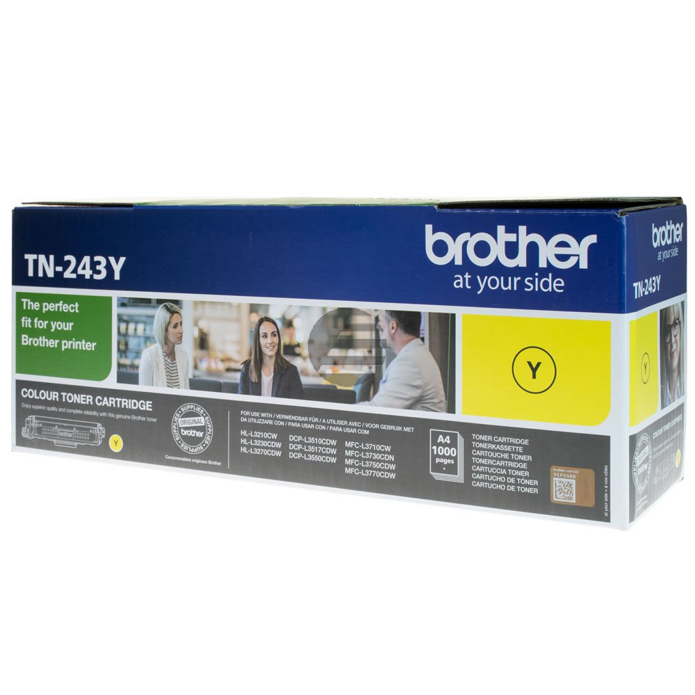 Brother Toner-Kartusche gelb (TN-243Y)