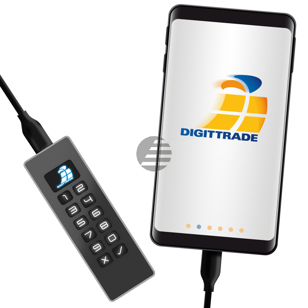 KOBRA USB-C STICK BASIC 256GB USB 3.0 DG-KSB-256 verschluesselt PIN-Anmeldung