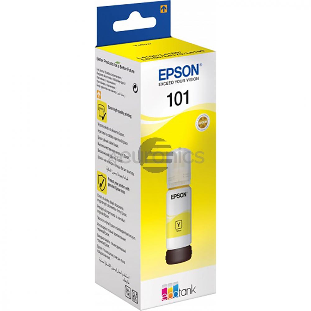 Epson Tintenflasche gelb (C13T03V44A, 101)