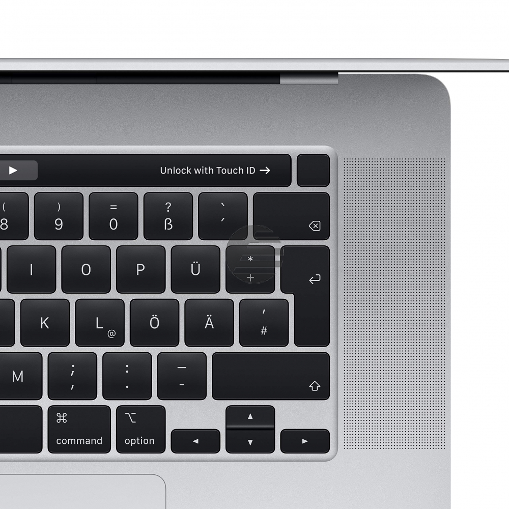 Apple MacBook Pro 2019 (16'', 2,6 GHz i9 6-Core, 16 GB, 512 GB) silber