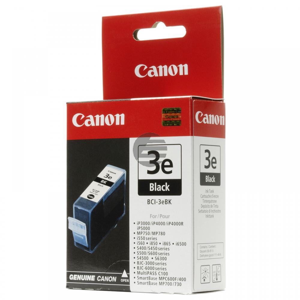 Canon Tintenpatrone schwarz (4479A002, BCI-3EBK)
