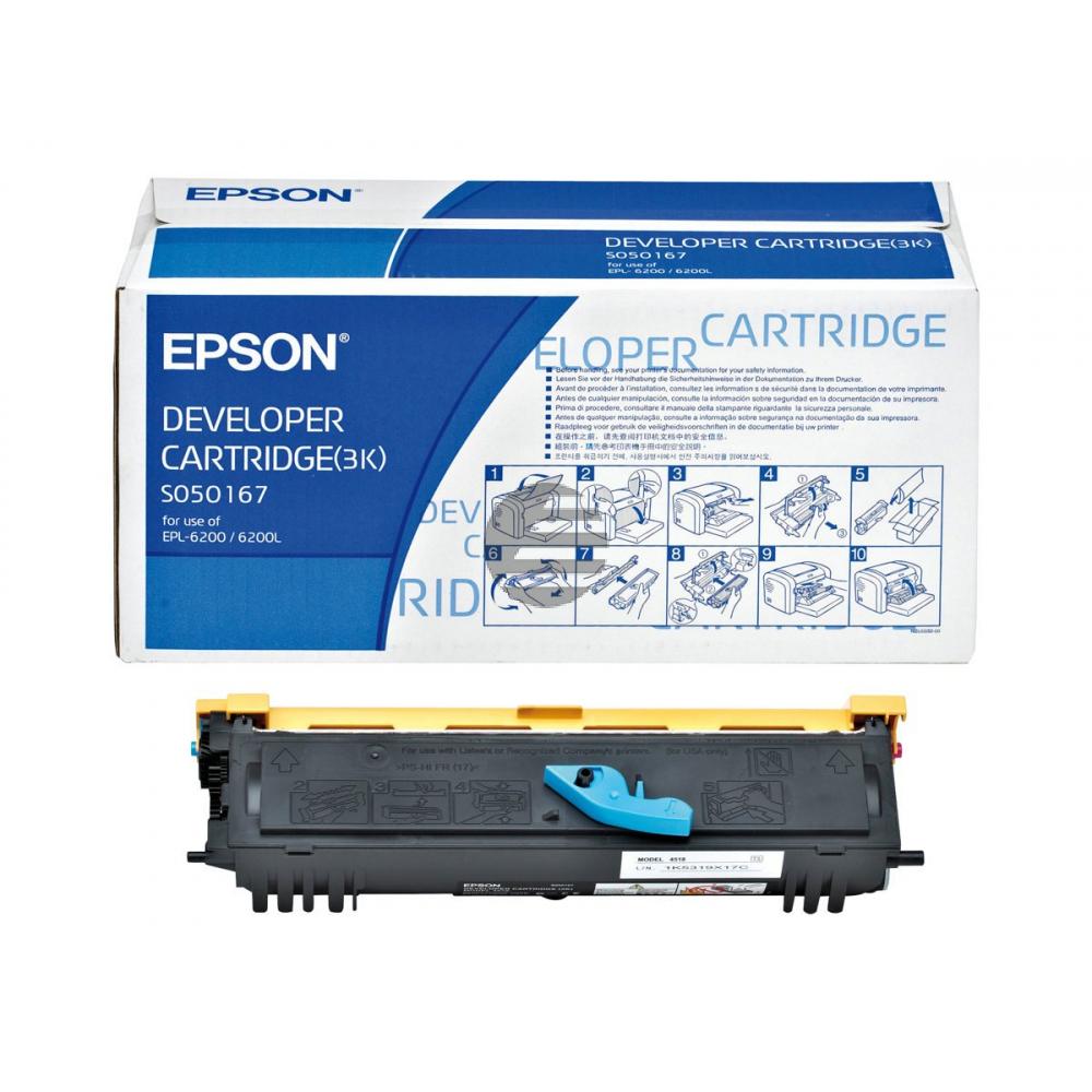 Epson Toner-Kartusche schwarz (C13S050167)