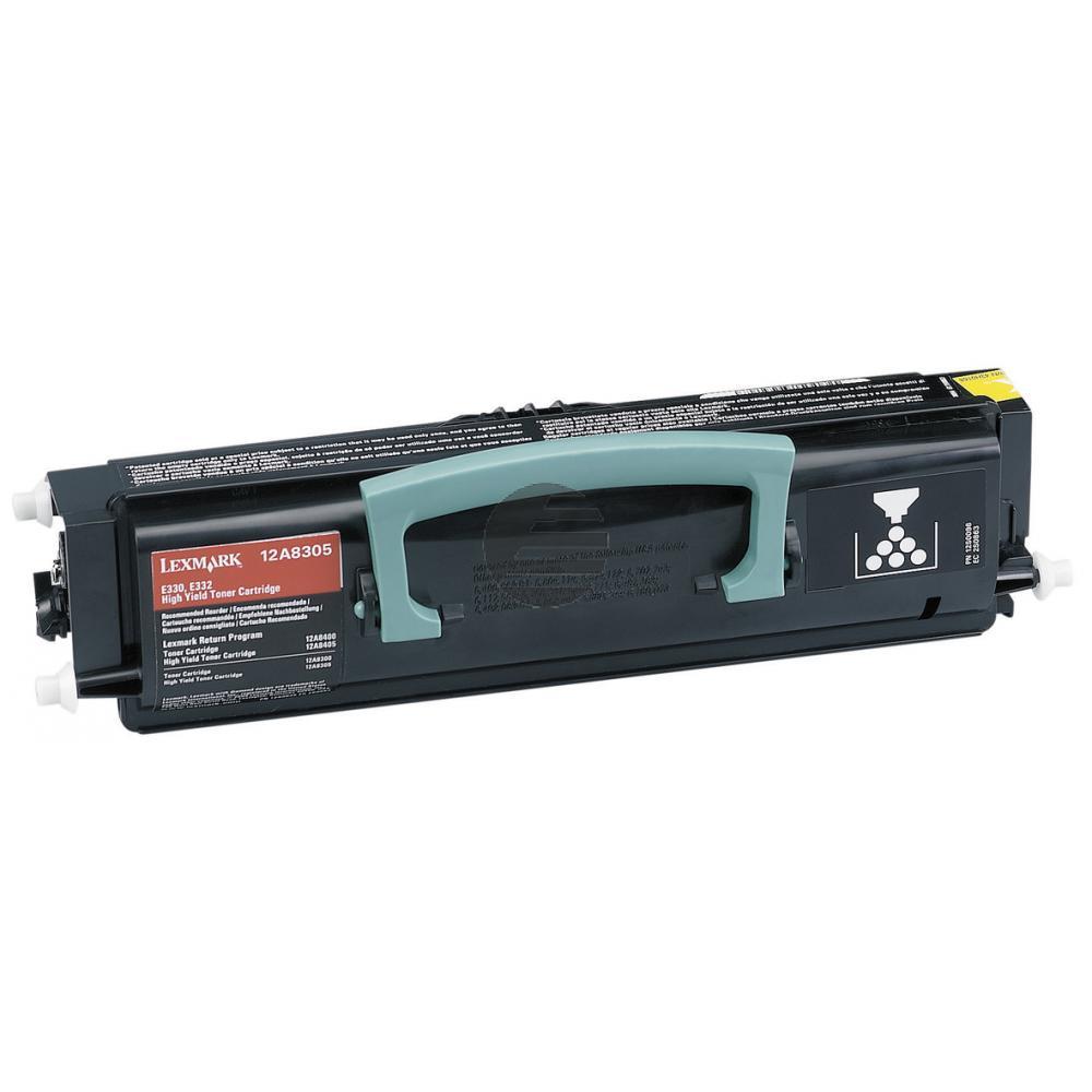 Lexmark Toner-Kartusche schwarz HC (12A8305)