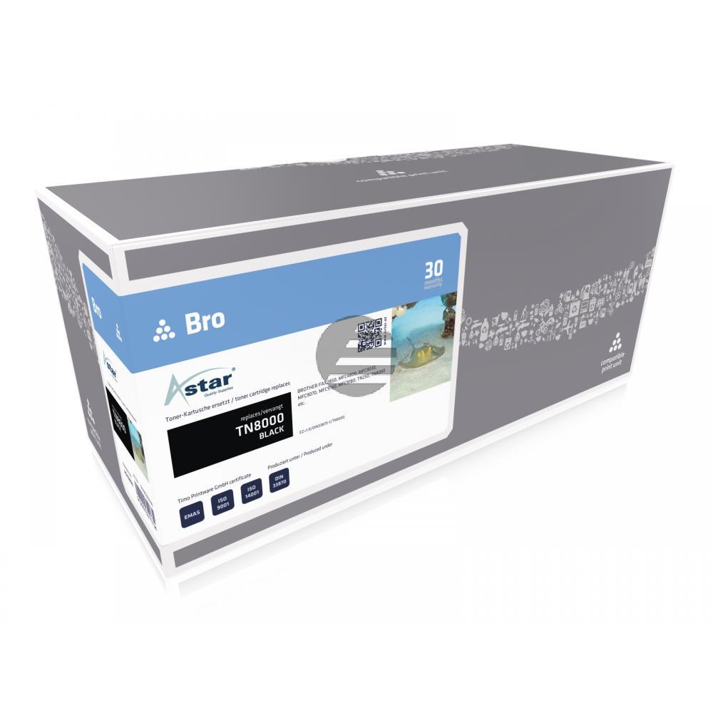 Astar Toner-Kit schwarz (AS10800) ersetzt TN-8000