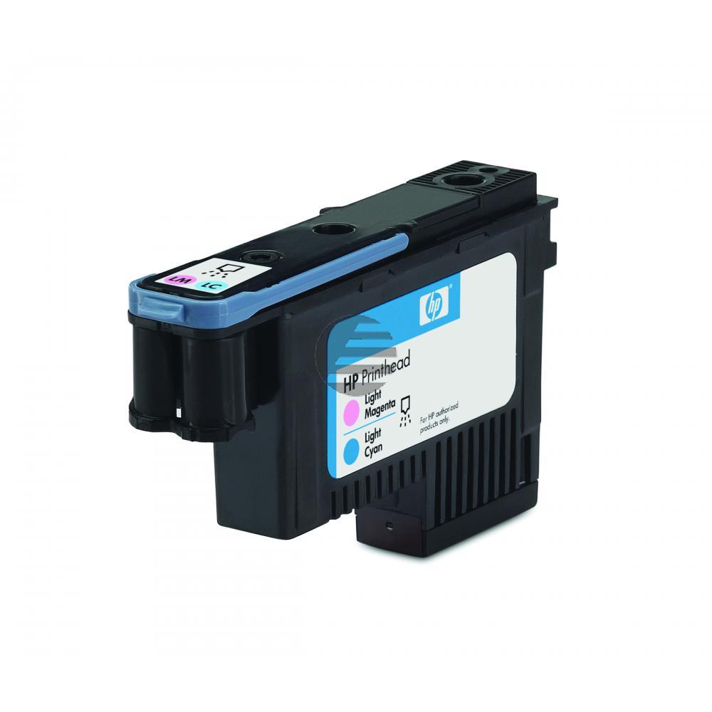 HP Tintendruckkopf cyan light/magenta (C9405A, 70)