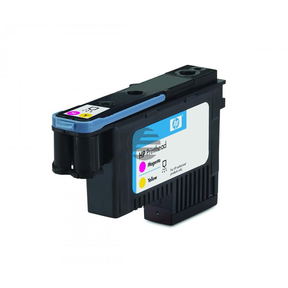 HP Tintendruckkopf magenta/gelb (C9406A, 70)