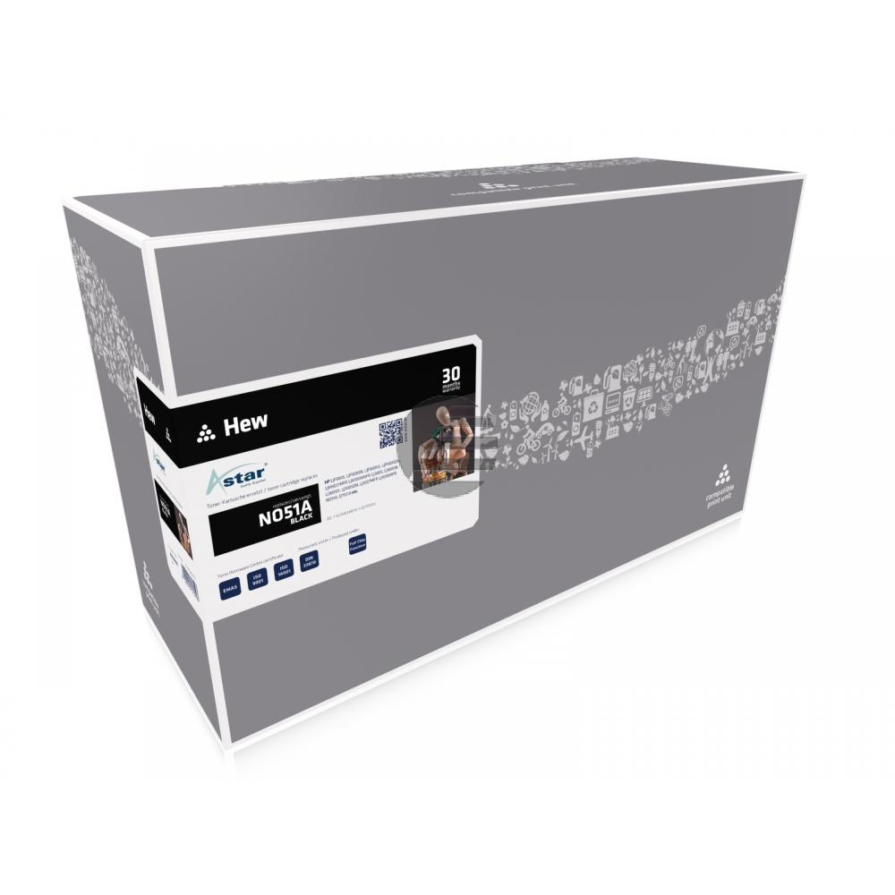 Astar Toner-Kartusche schwarz (AS10551) ersetzt Q7551A / 51A