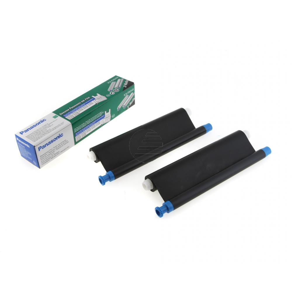 Panasonic Thermo-Transfer-Rolle schwarz 2-Pack (KX-FA54X)