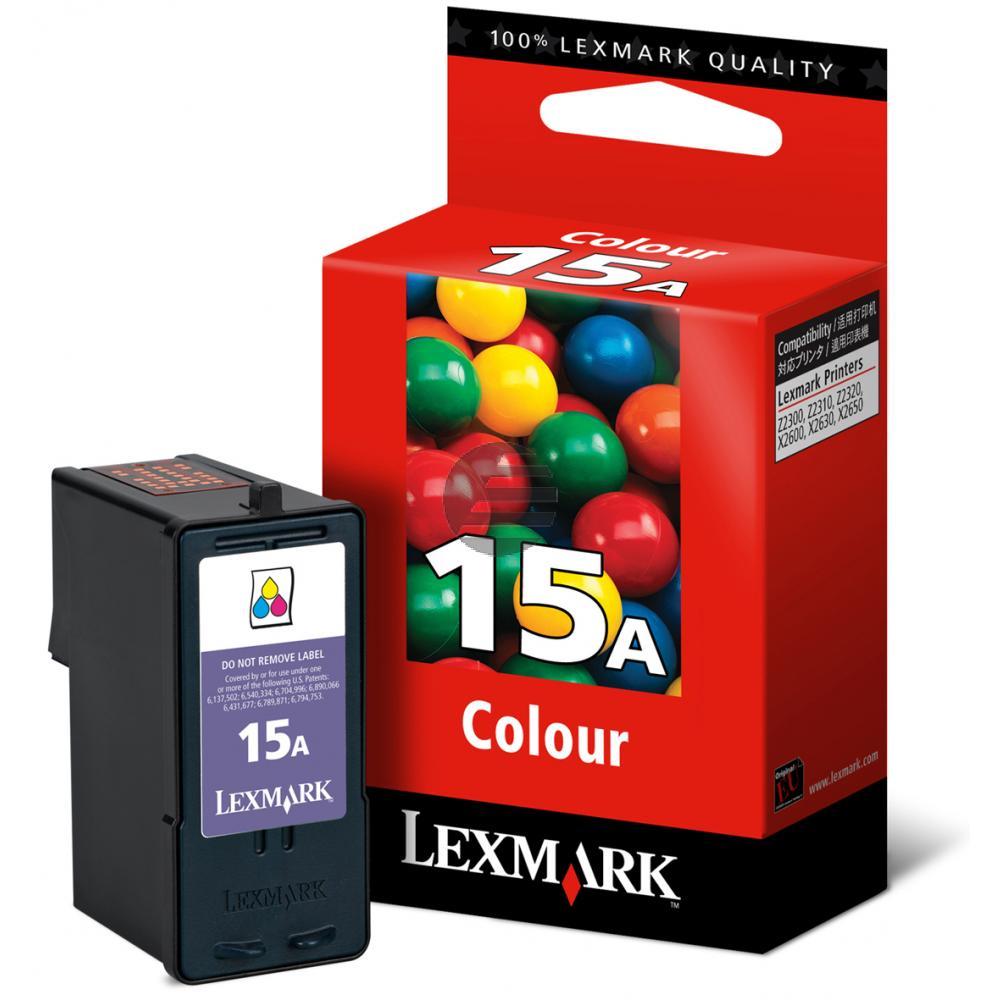 Lexmark Tintendruckkopf 3-farbig (18C2100E, 15 15A)