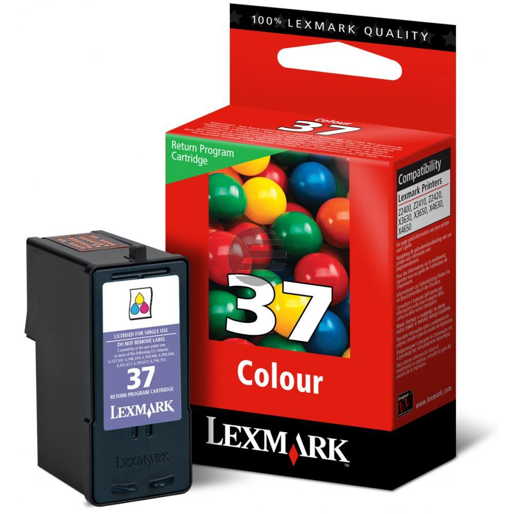 Lexmark Tintendruckkopf 3-farbig (018C2160E 18C2160E, 37A)