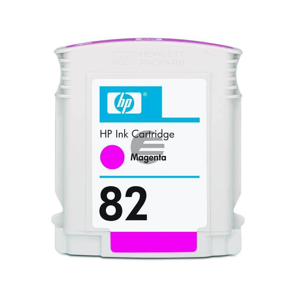 HP Tintenpatrone magenta (CH567A, 82)