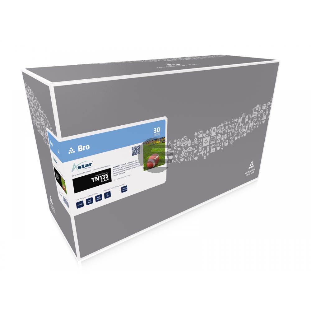 Astar Toner-Kit schwarz HC (AS11135) ersetzt TN-135BK / 007R97030