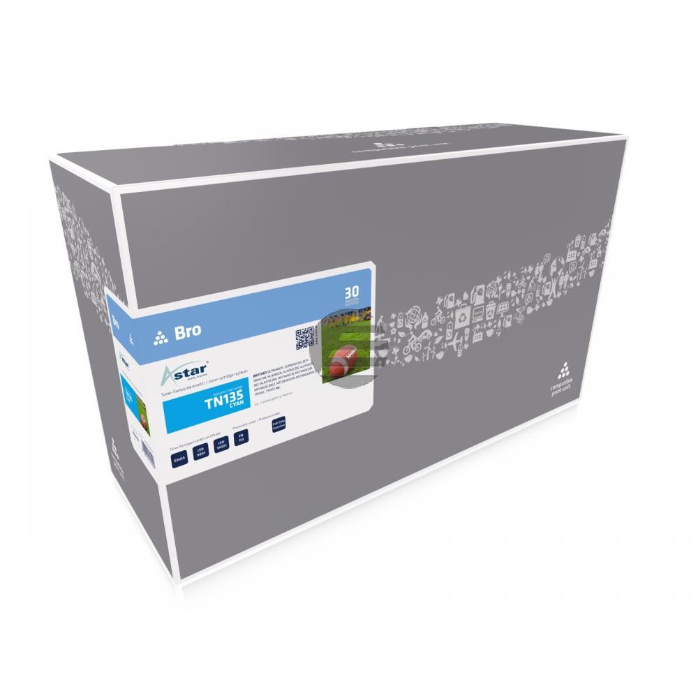 Astar Toner-Kit cyan HC (AS14135) ersetzt TN-135C / 007R97031