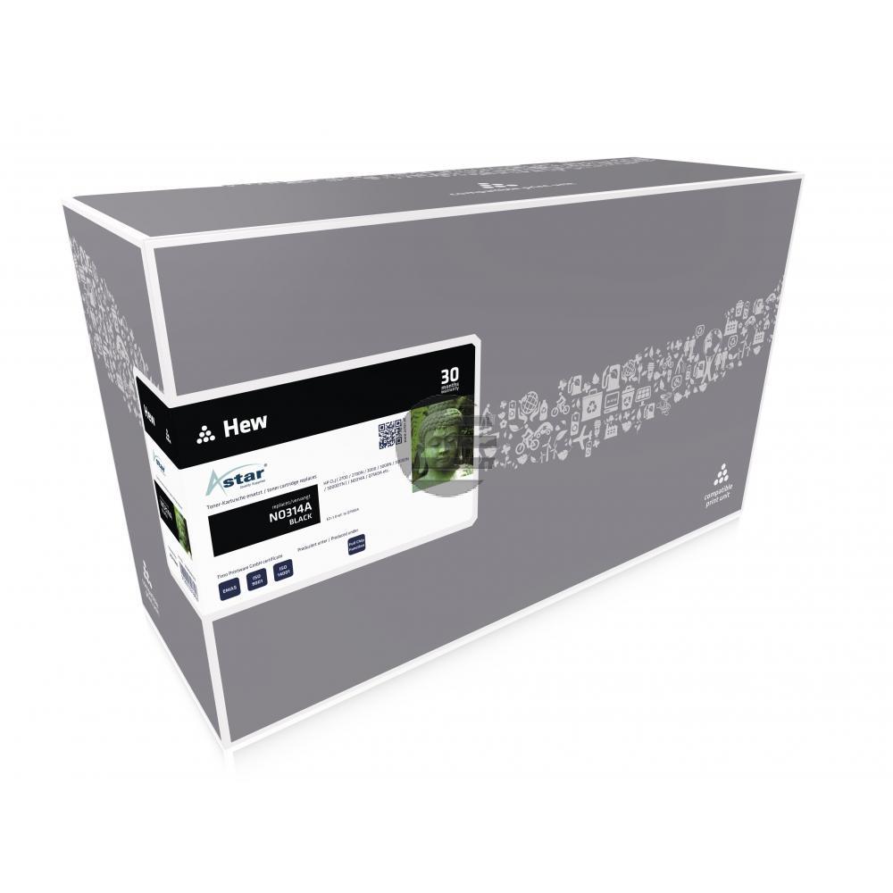 Astar Toner-Kartusche schwarz (AS11560) ersetzt Q7560A / 314A